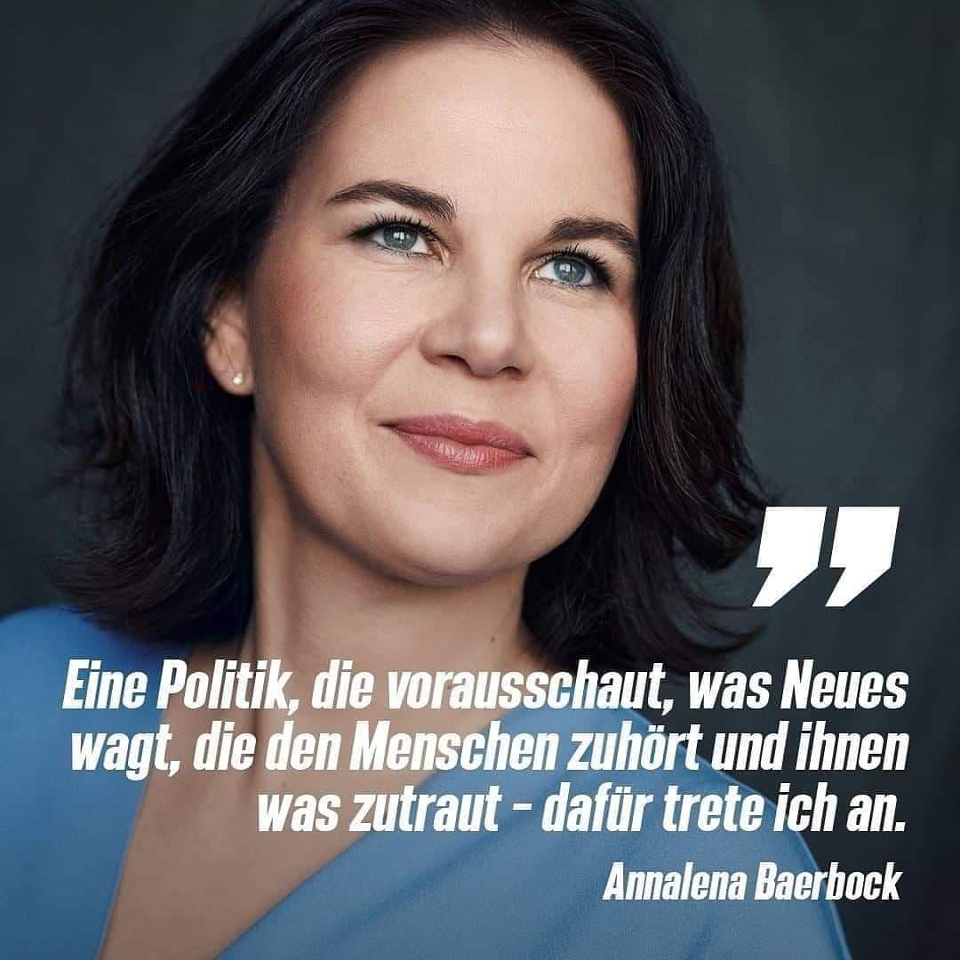 Annalena Baerbock wird Kanzlerkandidatin!