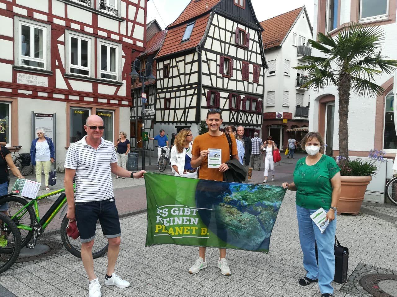 Klima-Demo in Bensheim