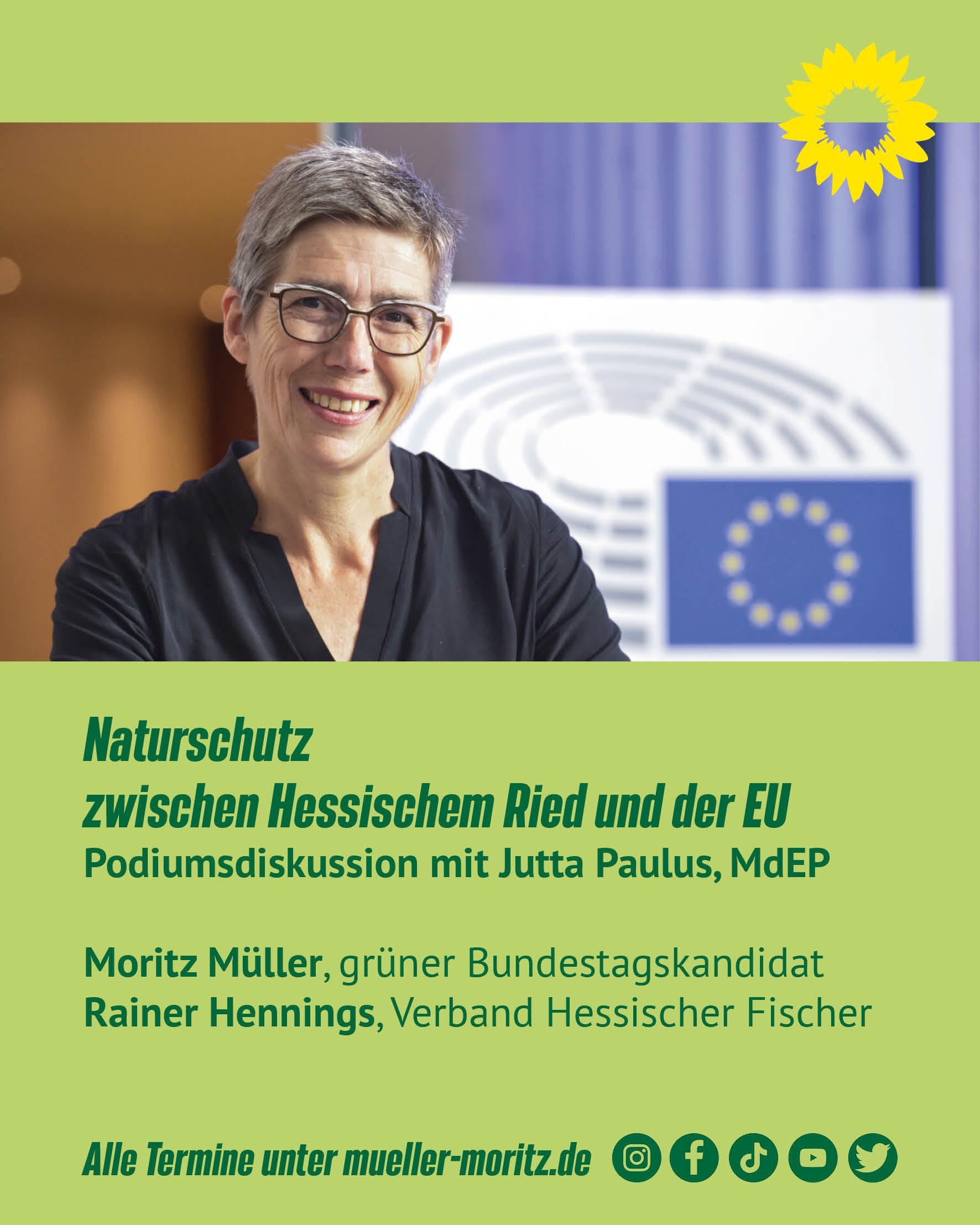Veranstaltung und Stream 10.9: Naturschutz zwischen Hessischem Ried und der EU