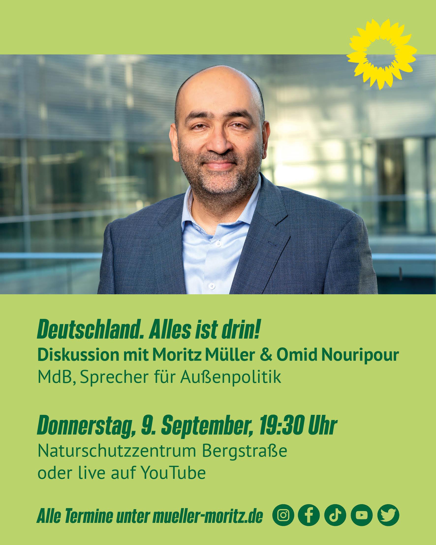 Veranstaltung und Stream 9.9: Deutschland. Alles ist drin.